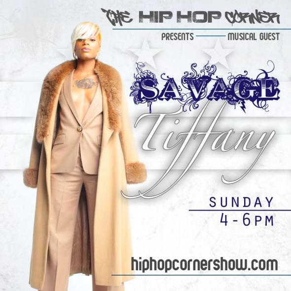 Savage Tiffany Flyer